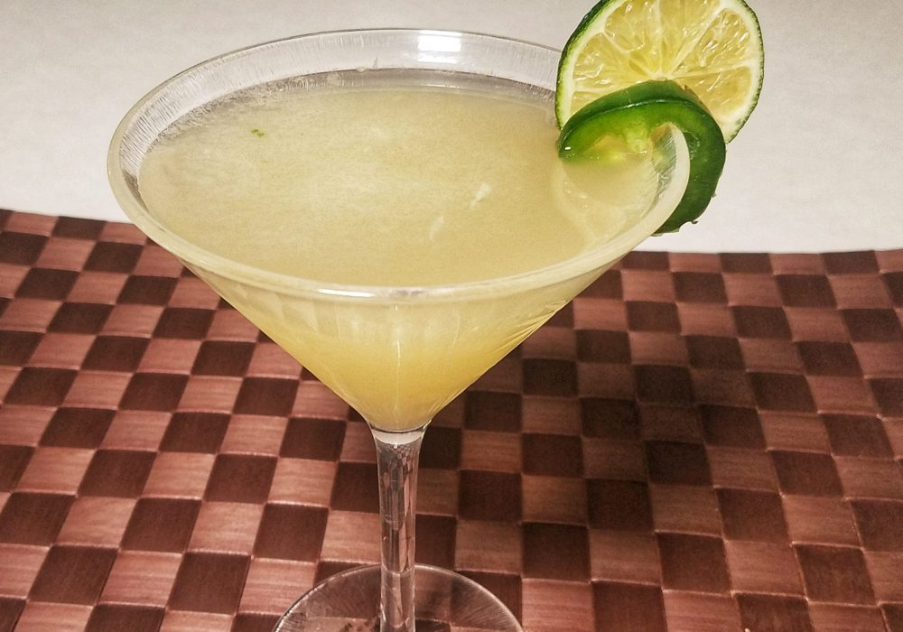 Jalapeno margarita close