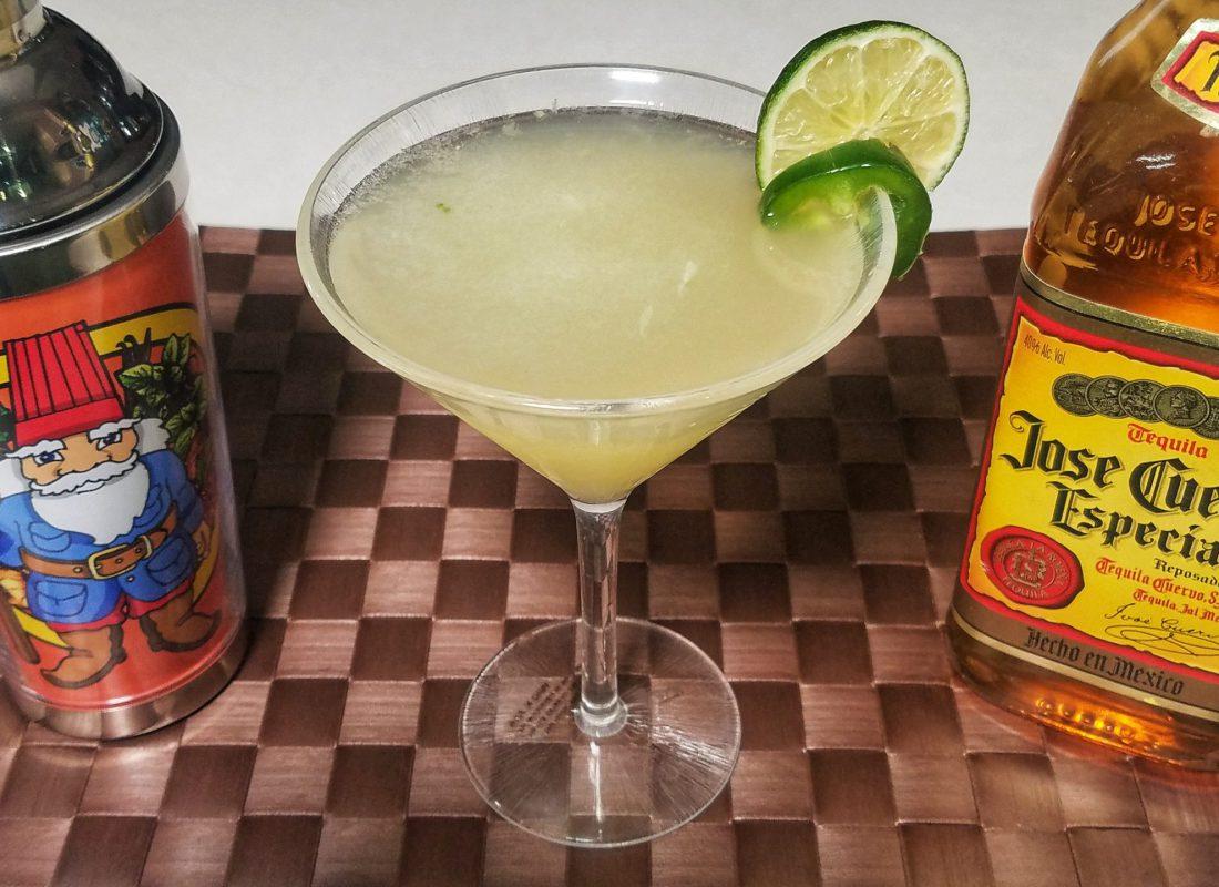 Jalapeno margarita trio